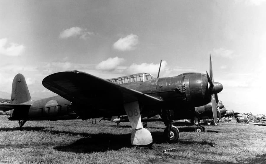 A Japanese airfield