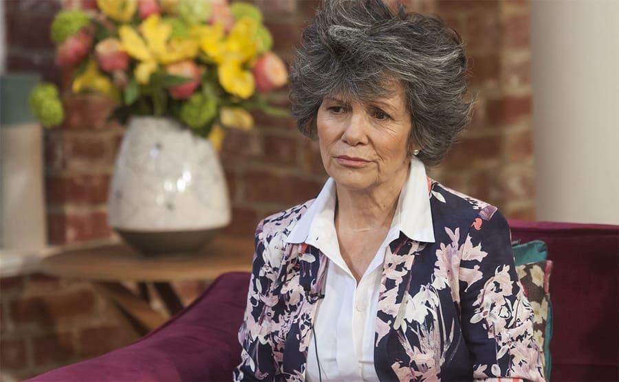 Marina being interviewed in 2013