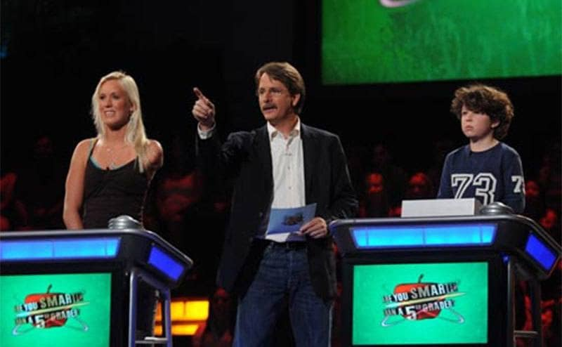 """Bethany Hamilton competing on """"Are You Smarter Than a Fifth Grader."""""""