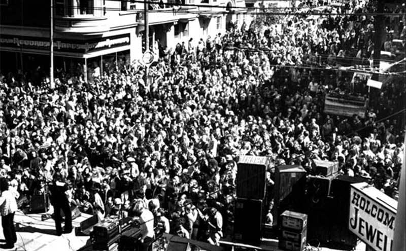 one of the first Haight-Ashbury Street Fairs.