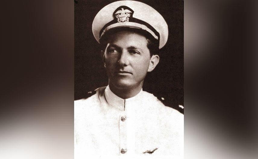 A portrait of flight lieutenant Charles Taylor