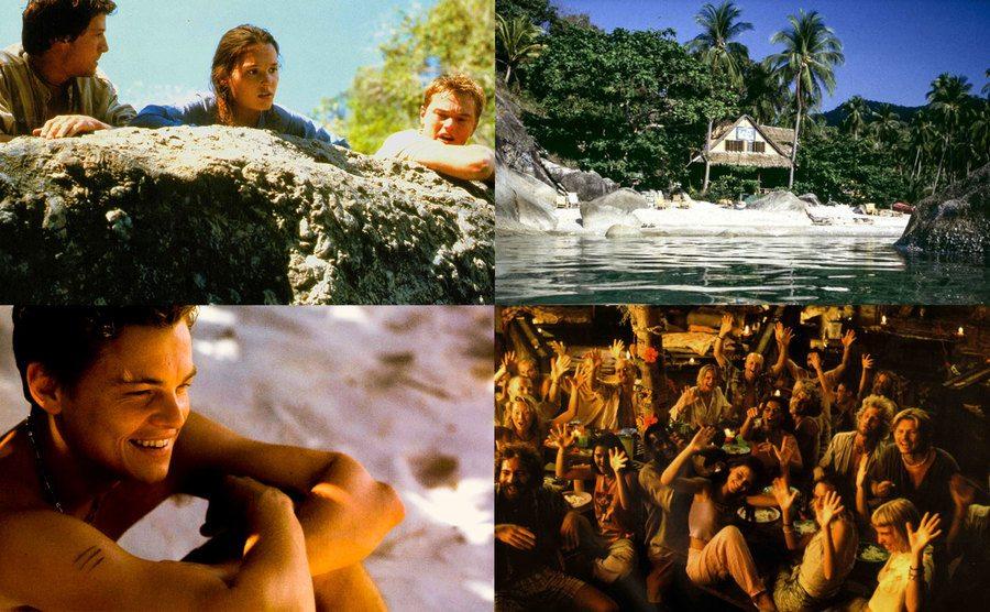 Leonardo DiCaprio, Virginie Ledoyen, Guillaume Canet/ The Secret Beach / Leonardo DiCaprio.