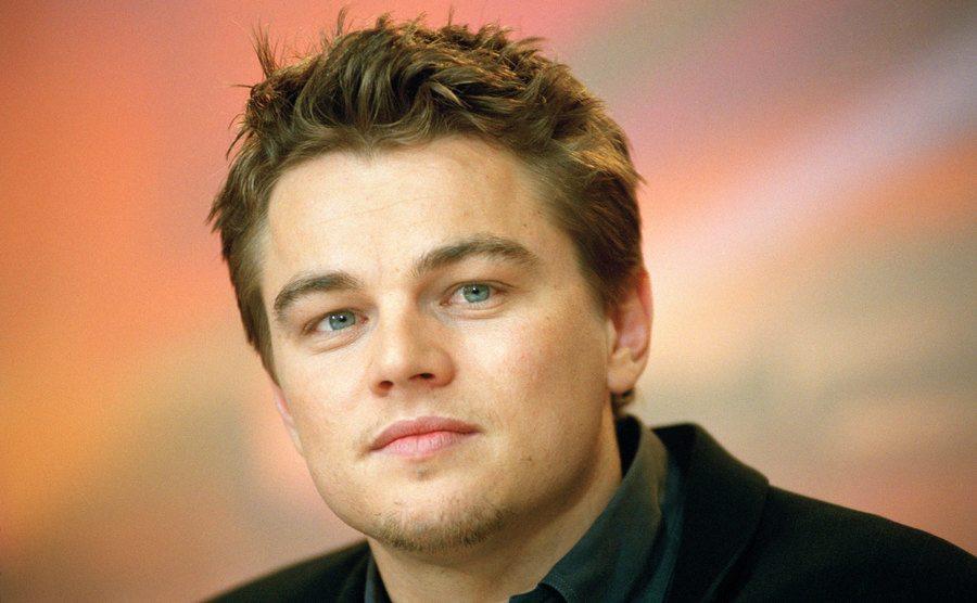 A portrait of Leonardo DiCaprio.