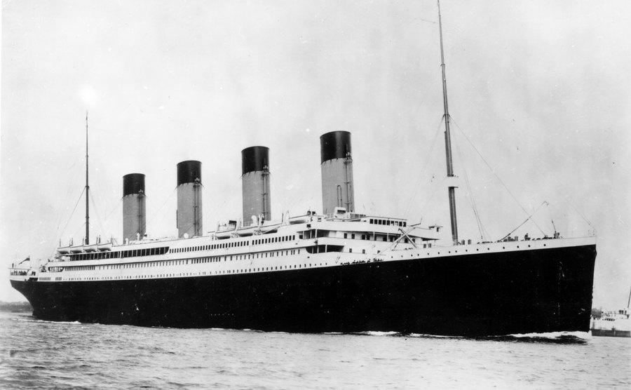 A picture of the Titanic.