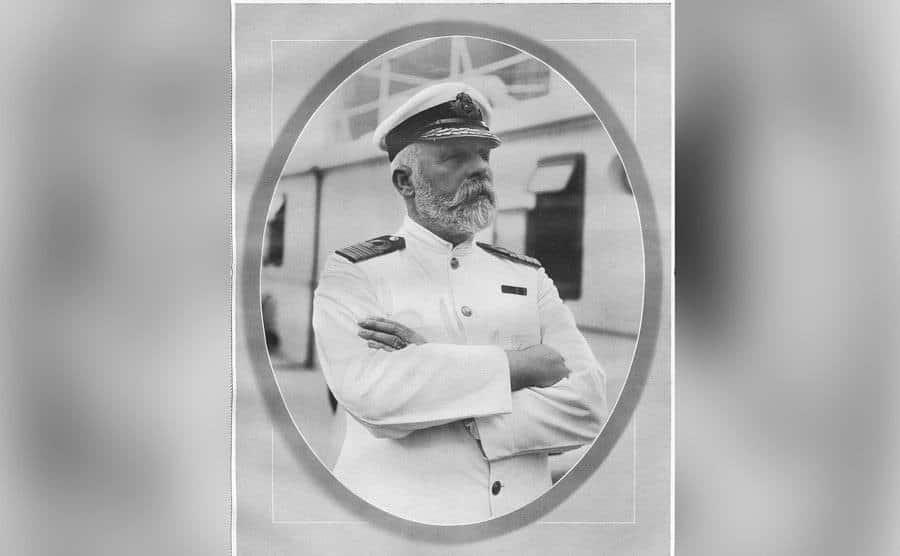 A portrait of the Senior Captain.