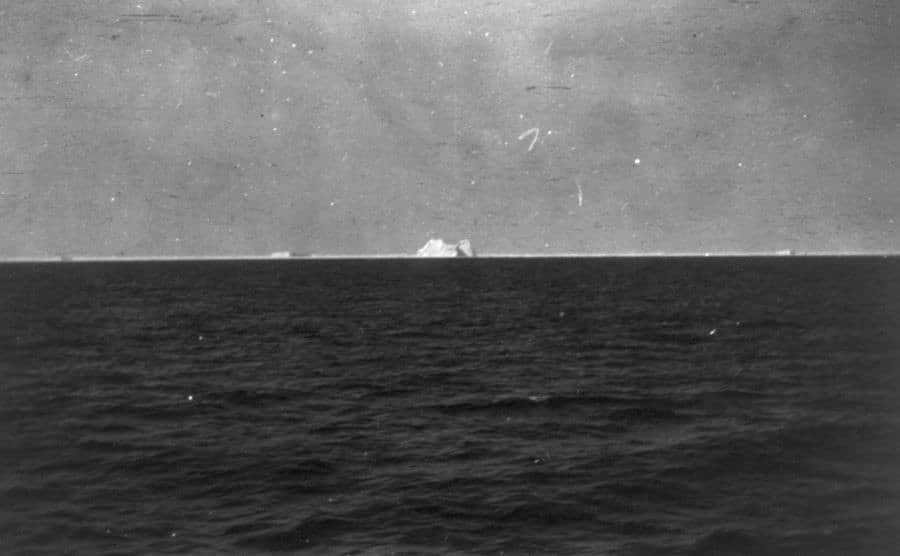 A view of the iceberg.