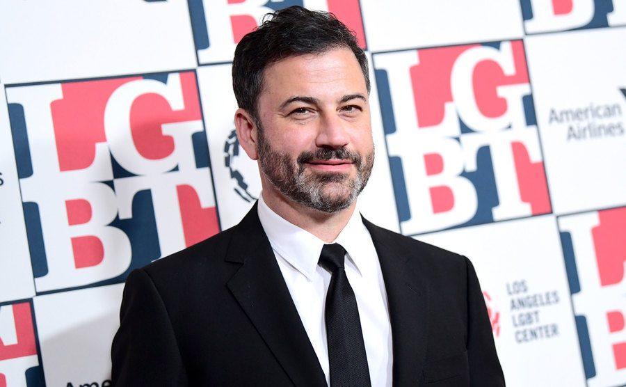 A portrait of Jimmy Kimmel.