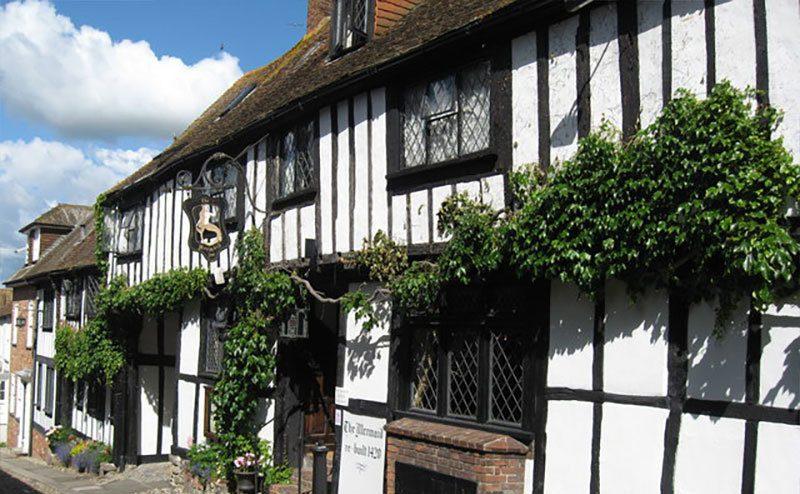 The Mermaid Inn in Rye, England.