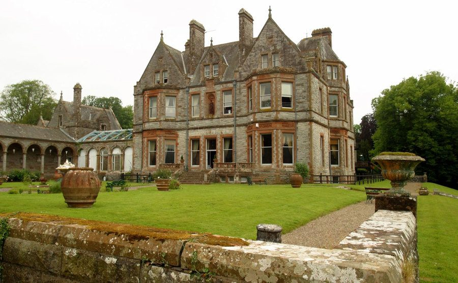 The Castle Leslie Estate in Monaghan, Ireland.