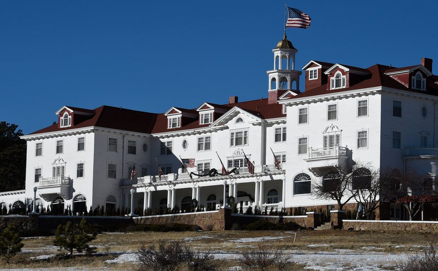 The Stanley Hotel in Colorado.