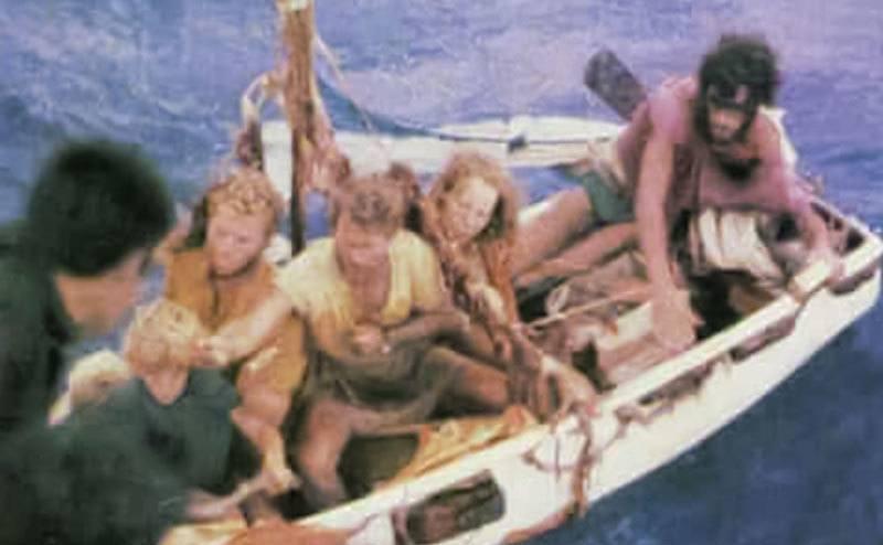 The Robertson's rescue.