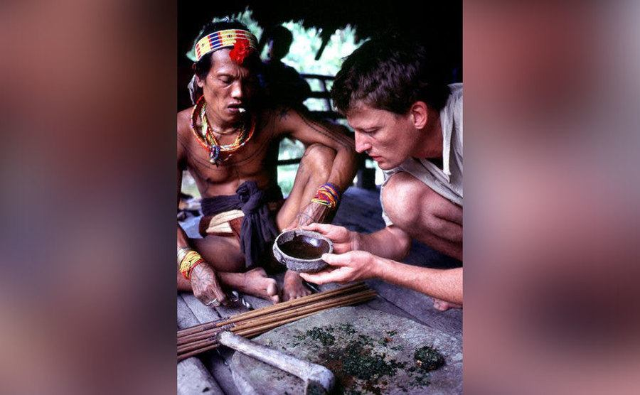 Allen examines the life of the locals in the Amazon jungle.