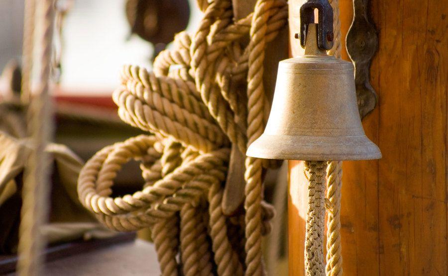 A photo of a sailing ship.