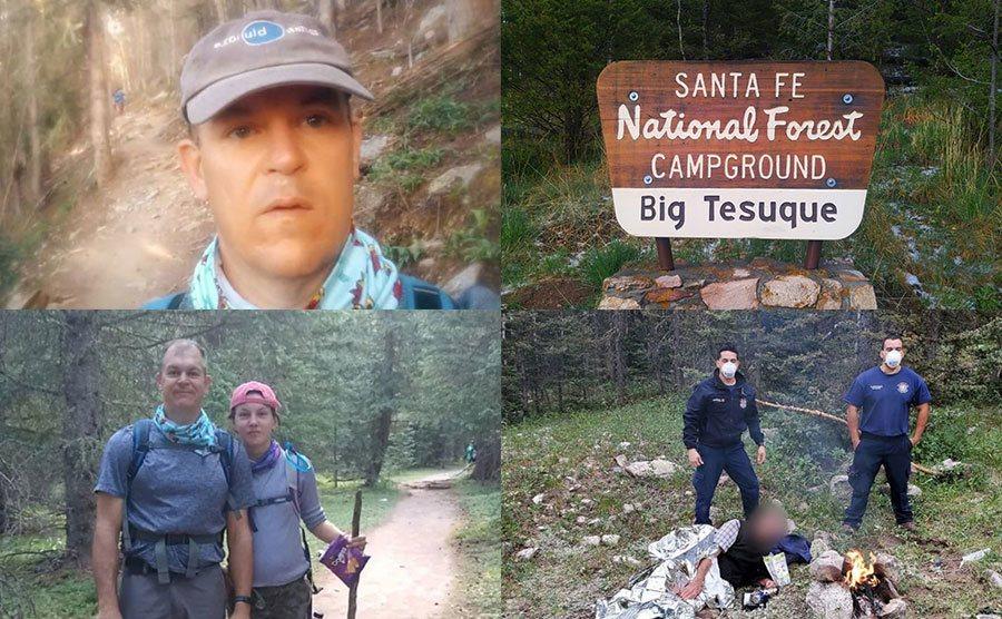 John Utsey / Santa Fe, Natural Forest Campground, Big Tesuque / John Utsey, Bing Utsey / Santa Fe Fire Department.